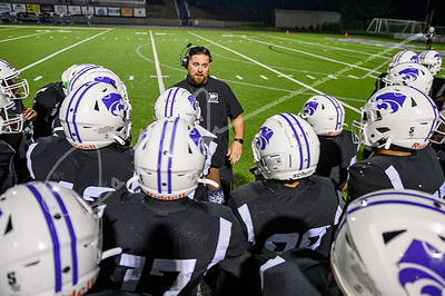 North Clayton Eagles vs. Duluth Wildcats, Thursday, October 7, 2021, at the Tim Maxwell Memorial Stadium in Duluth, GA
