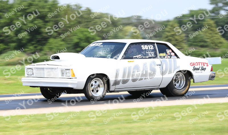 -Messenger photo by Britt Kudla<br /> Shawn Odegaard of Armstrong compete during North Iowa Dragway racing on Saturday in Humboldt