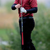 Sam Rock  of Fairview watches his tee shot on Wednesday.<br /> Cliff Grassmick / September 23, 2009