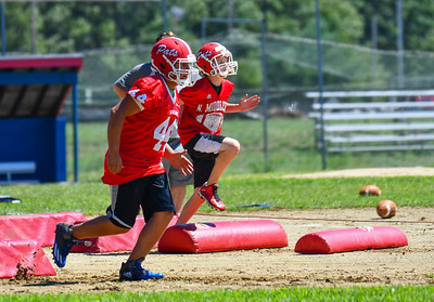 North Middlesex football gets back to work