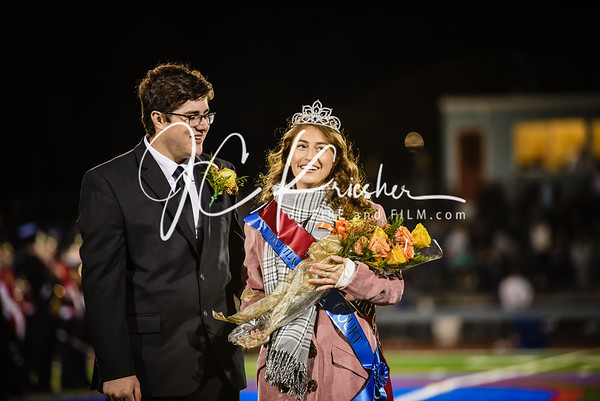 North Schuylkill Homecoming Court - 10/04/2019