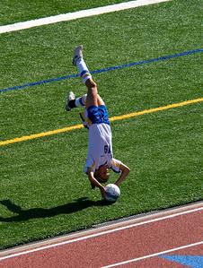 Flip throw in - Hampton Talbots Soccer