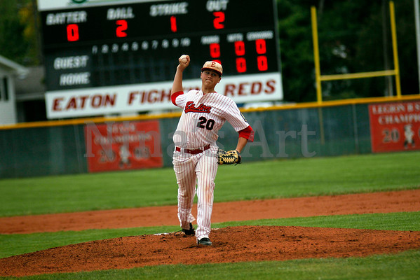 Brandon Koehler throws a one hitter against Academy in the Reds Regional title quest