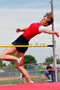 Ryleigh Haynes clears the high jump bar
