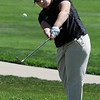 "Melissa Sanders of Monarch High School hits toward the 9th green.<br /> The 5A Northern Girls Golf Regional was played at Coal Creek Golf Course in Louisville. <br /> For more photos of the high school golf, go to  <a href=""http://www.dailycamera.com"">http://www.dailycamera.com</a>.<br /> Cliff Grassmick/ May 10, 2011"