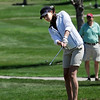 "Katie Hicks of Monarch High School hits toward the 9th green.<br /> The 5A Northern Girls Golf Regional was played at Coal Creek Golf Course in Louisville. <br /> For more photos of the high school golf, go to  <a href=""http://www.dailycamera.com"">http://www.dailycamera.com</a>.<br /> Cliff Grassmick/ May 10, 2011"
