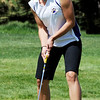 "Kalina Grabb of Boulder High is happy with her shot on hole 9.<br /> The 5A Northern Girls Golf Regional was played at Coal Creek Golf Course in Louisville. <br /> For more photos of the high school golf, go to  <a href=""http://www.dailycamera.com"">http://www.dailycamera.com</a>.<br /> Cliff Grassmick/ May 10, 2011"