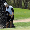 "Gina Larson of Skyline hits the ball to the 13th green.<br /> The 5A Northern Girls Golf Regional was played at Coal Creek Golf Course in Louisville. <br /> For more photos of the high school golf, go to  <a href=""http://www.dailycamera.com"">http://www.dailycamera.com</a>.<br /> Cliff Grassmick/ May 10, 2011"