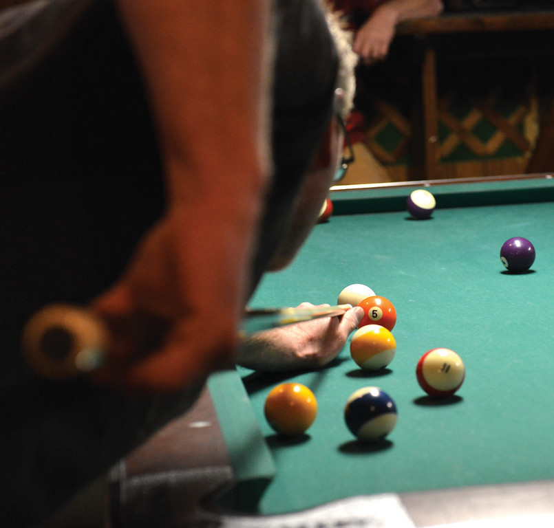Bud Denega | The Sheridan Press<br /> The Northern Division held its billiards tournament over the weekend at various locations around Sheridan.