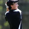 Dylan Wonnacott, of Silver Creek High School, tees off at hole one during the Northern League Golf Tournament on Friday.<br /> Cliff Grassmick  / August 10, 2012