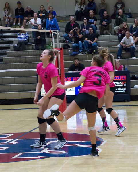 Northridge Volleyball 2017 Pink Night