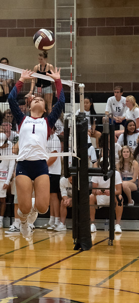 Northridge Volleyball vs Silver Creek Sept 4 2018