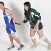 Cover athletes Andres Gonzales, of St. Mikes and Chase Ealey of Los Alamos