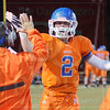 Matt Hamilton/The Daily Citizen<br /> NW2 celebrates after NW scored on their first play from scrimmage against Dalton Friday.