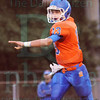Matt Hamilton/The Daily Citizen<br /> NW13 looks for a receiver Friday.