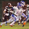 Matt Hamilton/The Daily Citizen<br /> NW1 runs for a TD Friday.