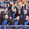 Matt Hamilton/The Daily Citizen<br /> NW color guard performs in the stands Friday.