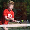 Matt Hamilton/The Daily Citizen<br /> D Anna Grace Wilson plays a ball during her match with NW Gracie Cansler.