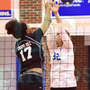 Matt Hamilton/The Daily Citizen<br /> CH17 and NW32 battle at the net.