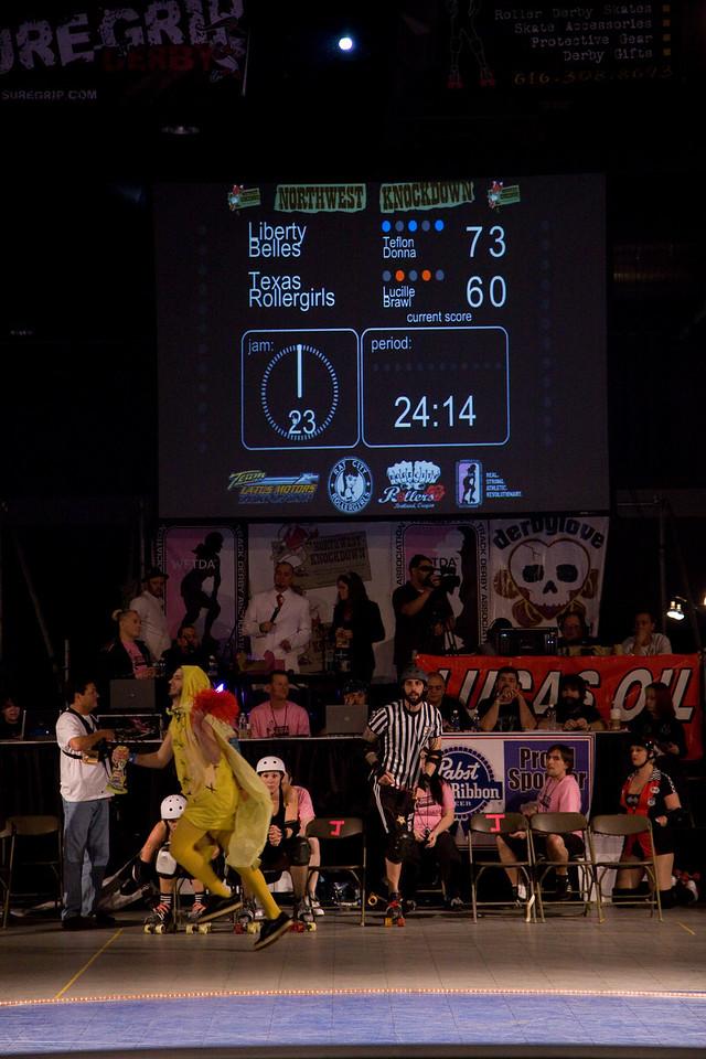 Philly v. Texas, Second Half