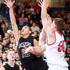 11-27-13<br /> Kokomo vs. Western basketball<br /> Western's Des Balentine goes up for a shot.<br /> KT photo | Kelly Lafferty
