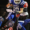 11-22-13<br /> Tipton Semistate<br /> Tipton's Nate Hein jumps over Rensselaer's defense.<br /> KT photo | Kelly Lafferty