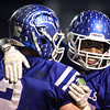 11-15-13<br /> Tipton vs. Oak Hill regional football<br /> Tipton's Jake Devendorf hugs Austin Hooker after Hooker scores a touchdown.<br /> KT photo | Kelly Lafferty