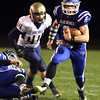 11-15-13<br /> Tipton vs. Oak Hill regional football<br /> Tipton's Austin Hooker runs the ball.<br /> KT photo | Kelly Lafferty