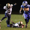 11-15-13<br /> Tipton vs. Oak Hill regional football<br /> Tipton's Nate Hein outruns Oak Hill's defense.<br /> KT photo | Kelly Lafferty