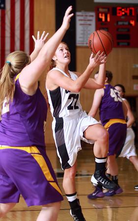 11-26-13<br /> Western vs. Northwestern basketball<br /> Western's Carley O'Neal goes for the basket.<br /> KT photo | Kelly Lafferty
