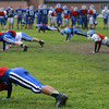 11-5-13<br /> Tipton football practice<br /> Part of Tipton's football team does pushups on the practice field.<br /> KT photo | Kelly Lafferty