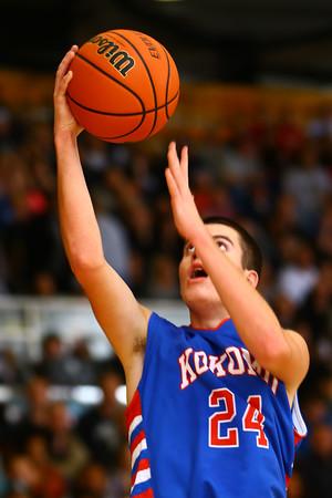 11-26-14<br /> Western HS hosting Kokomo HS Boys basketball.<br /> Tim Bath | Kokomo Tribune