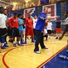 11-10-14<br /> First day of Kokomo High School basketball practice at Memorial Gym. Coach Matt Moore giving drill instructions to the kids.<br /> Tim Bath | Kokomo Tribune