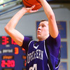 11-29-14<br /> Tri Central vs Northwestern basketball<br /> Northwestern's Blake Oakley shoots.<br /> Kelly Lafferty Gerber | Kokomo Tribune