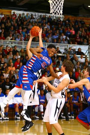 11-26-14<br /> Western HS hosting Kokomo HS Boys basketball.<br /> Tim Bath   Kokomo Tribune