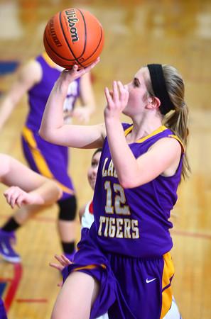 11-14-14<br /> Kokomo vs. Northwestern girls basketball<br /> Northwestern's Brianna Hahn shoots.<br /> Kelly Lafferty Gerber | Kokomo Tribune