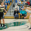 Lebanon's Brooke Montgomery, left, finished with 28 points, six steals, four rebounds and three assists in the Tigers' 49-47 comeback thriller over Covenant Christian.
