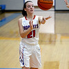 CHBC's Erica Lorton throws a pass to the corner against South Central.