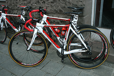 Bike of Emma Johansson, Red Sun Team