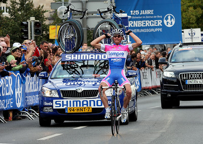 Francesco Gavazzi (Lampre) is the winner of the race.