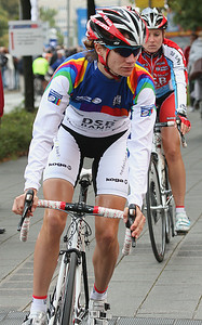Worldcup winner 2009 Marianne Vos