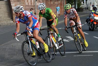 Sieger Helmut Trettwer (Team Baier Landshut) vor Alexander Krieger (Team Heizomat) 3er und Leif Lampater (Team Irschenberg) 2er.
