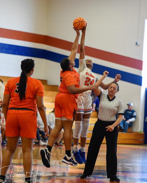 Glenn Girls Basketball vs Vance