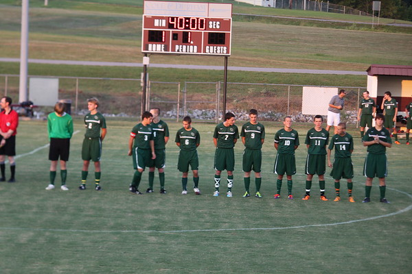 OCHS Boys Soccer vs Madisonville 8-23-11