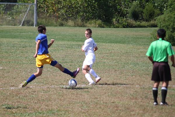 OCHS Soccer vsNewport Catholic 9-17-11