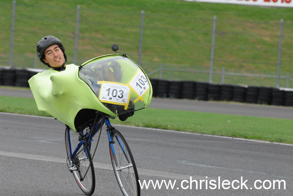 Time Trial. OHPV Human Power Challenge 2006.
