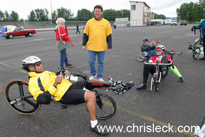 On the Paddock. OHPV Human Power Challenge 2006.