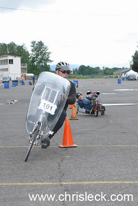 Autocross. OHPV Human Power Challenge 2006.