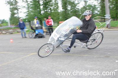 Autocross. OHPV Human Power Challenge 2006.