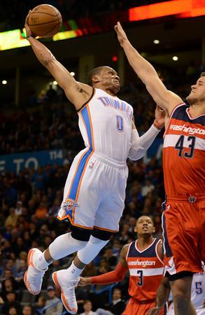 Thunder hosts Washington